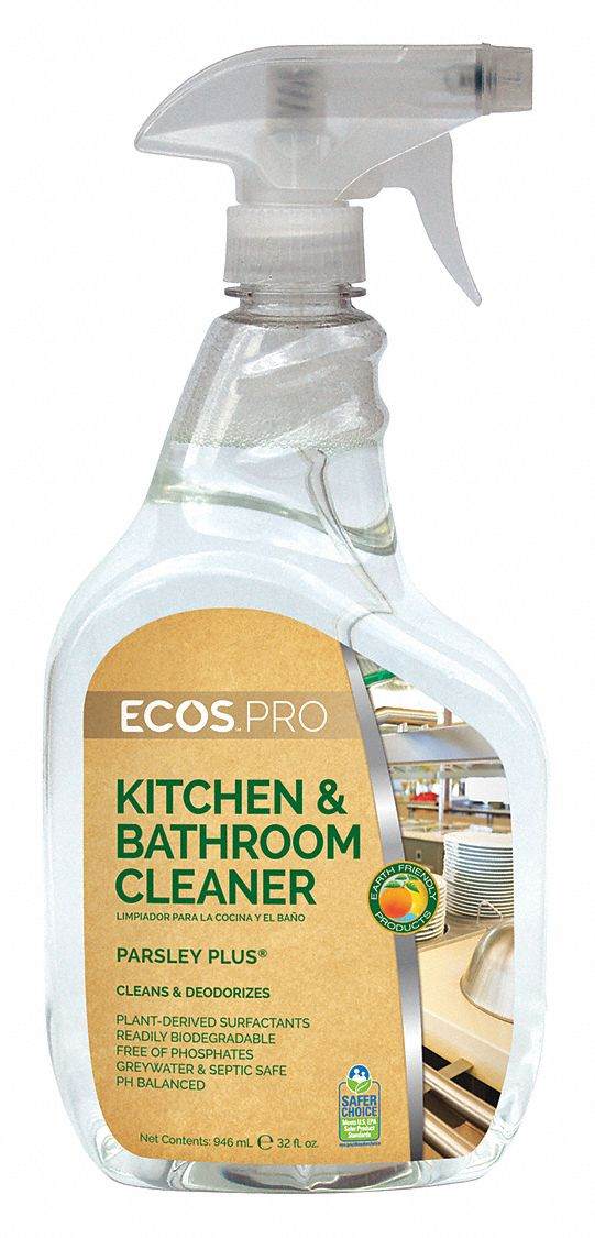 EARTH FRIENDLY PRODUCTS Kitchen Cleaners, Size 32 oz., Parsley by Earth Friendly Products PL9746/32 at Sears.com