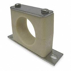Tube Clamp Kit, Pipe Sz 1 1/4 In, 316SS