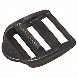 Slide Bar Buckle, 3/4 In., Plastic, PK 25