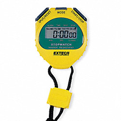 Digital Stopwatch, Water Resistant