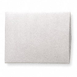 Foam Bag, White, 10-1/2 In.W, 16 In.L, PK150