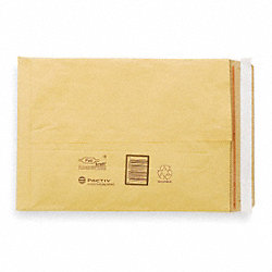 Padded Mailer, 10 In. L, Self Seal, PK 250