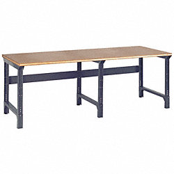 Workbench, 96Wx36Dx30-1/2 to 34-1/2In H