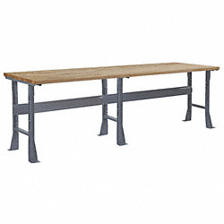 Flared Leg Workbench, 96Wx30Dx33-3/4In H