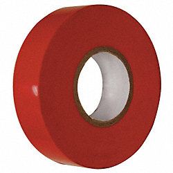 Electrical Tape, 3/4 x 60 ft., 7 mil, Red