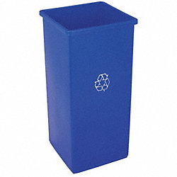 Recycling Can, Blue, 32 G