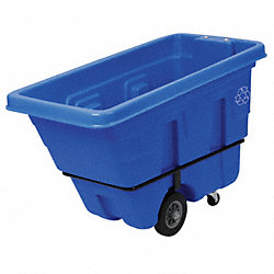 Recycling Tilt Truck, Blue