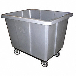 Gray Cube Truck, 15 Cu. Ft., 600 Lb. Load
