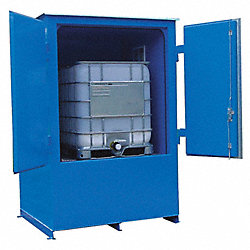 Storage Locker, Fire Rated, 1 Tote, Steel