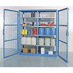 Enclosed Containment Shelves