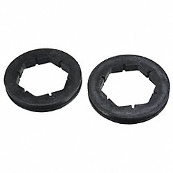 Motor Mounting Rings, PK 2, 2-1/2 In OD