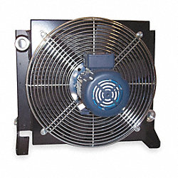 Oil Cooler, AC, 4-50 GPM, 115/230 V, 1/2 HP