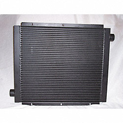 Oil Cooler, 10-110 GPM, 82 HP Removal