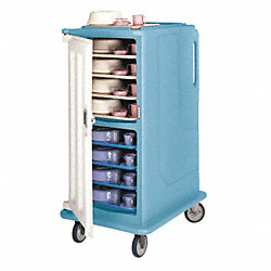 Meal Del. Cart, 30 5/8x39 1/8x58 1/8, Gray