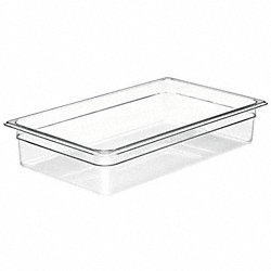 Food Pan, Full Size, Clear, PK 6