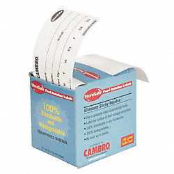 Food Rotation Label, 3 In. W, PK 24