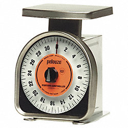 Mechanical Portion Control Scale, 2lb Cap