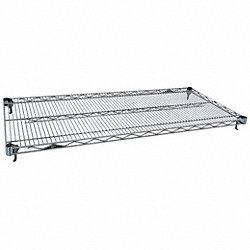 Wire Shelf, 60 W x 18 in. D, PK 5