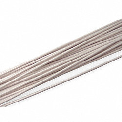 Welding Rod, ABS, 3/16 In, White