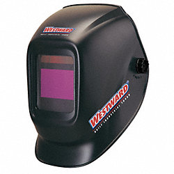 Weld Helmet, 5.25x4.5 In, Black, Shade 9-13