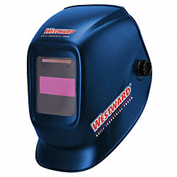 Weld Helmet, 5.25x4.50 In, Blue, Shade 10