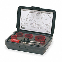 Hole Saw Kit, 8 PC