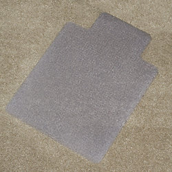 Chair Mat, Lip, Carpet, 36 x 48 In.