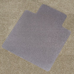 Chair Mat, Lip, Carpet, 45 x 53 In.