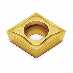 Indexable Insert, Triangle, Rad 1/32 In