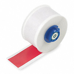 Tape, Red, 50 ft. L, 1 In. W