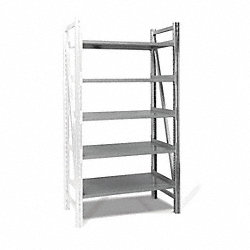 Boltless Shelving Add-On, 48x24, 5 Shelf