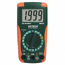 Digital Multimeter, 600V, 20 MOhms