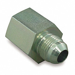 Hose Adapter, NPT to JIC, 3/8-18x9/16-18