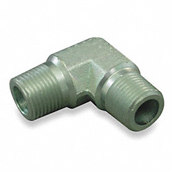 Hose Adapter, MNPT, Elbow, 1 11-1/2, Steel
