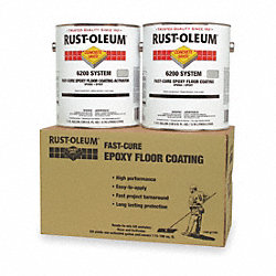 6200 Floor Coating Kit, Dunes Tan, 1 gal