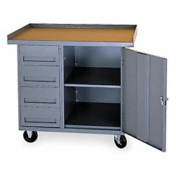 Mobile Service Bench, 25 In. L, 42 In. W