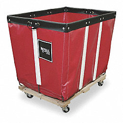 Basket Truck, 20 Bu. Cap., Red, 48 In. L