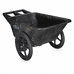Big Wheel Cart, HD, 1/4 cu. yd., 300 lb.