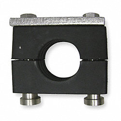 Tube Clamp Kit, Tube 3/8 In, Carbon Steel