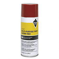 Spray Paint, Cherry Red, 12 oz.