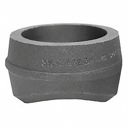 Pipe Saddle, Socket Weld, 1 In