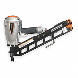Air Framing Nailer, Full Rnd, 30 Deg, Paper