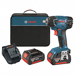 Cordless Impact Wrench Kit, 133 ft.-lb.
