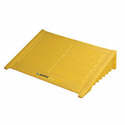 Spill Pallet Ramp, Yellow, 1000 lb.