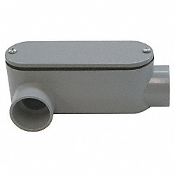 Conduit Body, LR, 3/4In. Hub Size, PVC