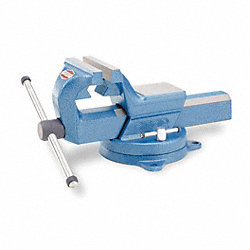 Vise, Pipe/Machinist, 6 In, Swivel