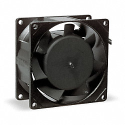 Axial Fan, 24VDC, 3-1/8In H, 3-1/8In W