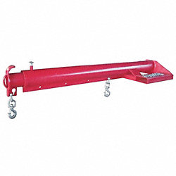 Low Profile Telscopg Boom, L144In, 4000Lb
