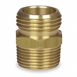 Hose To Pipe Adapter, Double Male