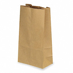 Paper Bag, Brown, 3 In., PK 250